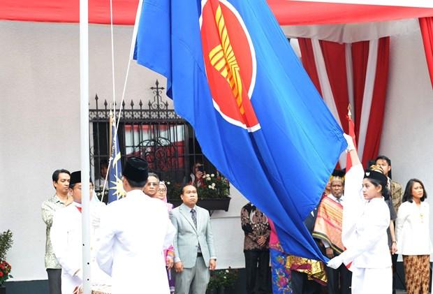 Celebran en Mexico el 52 aniversario de la fundacion de la ASEAN hinh anh 1