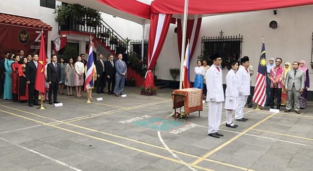 Celebran en Mexico el 52 aniversario de la fundacion de la ASEAN hinh anh 2