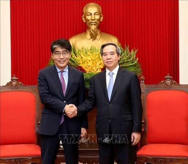 Pide Vietnam asistencia de la OIT para perfeccionamiento de sistema legal en materia laboral hinh anh 1