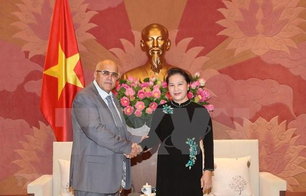 Ratifica presidenta del Parlamento de Vietnam solidaridad con Cuba hinh anh 1