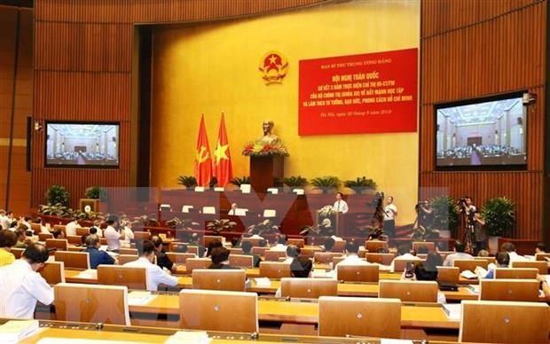 Impulsan en Vietnam el seguimiento de ejemplo de Ho Chi Minh hinh anh 1