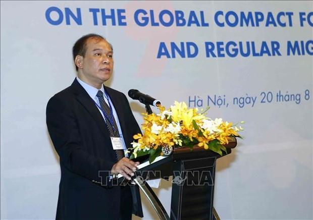 Ratifica Vietnam su compromiso de combatir la migracion ilegal hinh anh 1