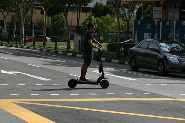 Endurecen en Singapur regulaciones sobre el uso de vehiculos de movilidad personal hinh anh 1