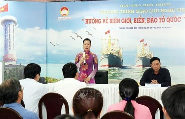 Recaudan en Ciudad Ho Chi Minh fondos a favor del mar y las islas de Vietnam hinh anh 1