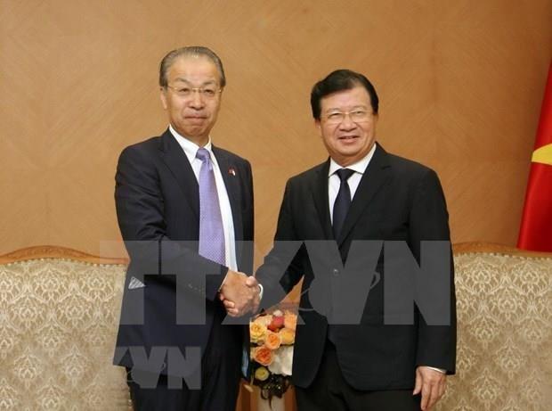 Reafirman en Vietnam importancia de la cooperacion con empresas japonesas hinh anh 1