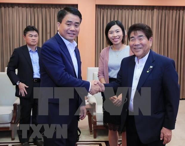 Aspira Hanoi a colaborar con Japon en agricultura de alta tecnologia hinh anh 1