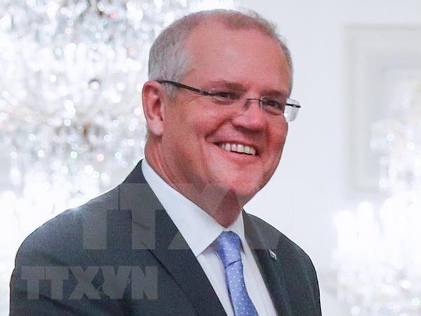Aspira primer ministro de Australia a promover asociacion estrategica con Vietnam hinh anh 1
