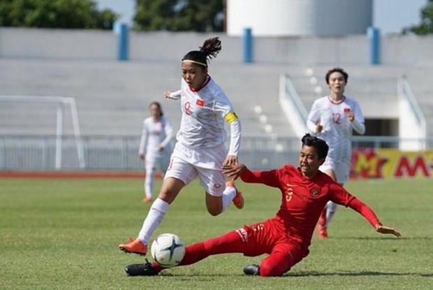 Vietnam encabeza Grupo B del Campeonato Femenino regional de futbol hinh anh 1