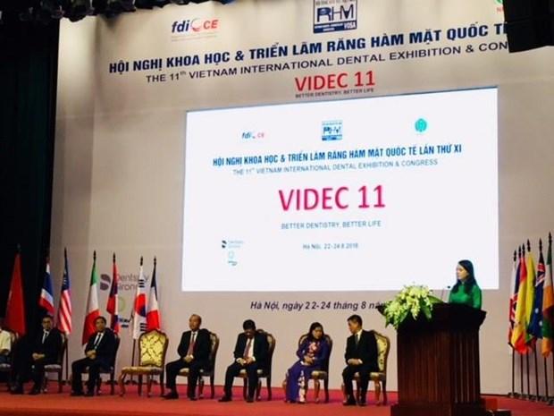 Inauguran en Vietnam conferencia internacional de odontologia hinh anh 1