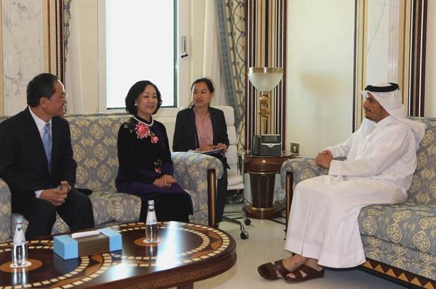 Califican lideres de Qatar a Vietnam como socio importante hinh anh 1
