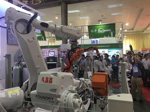 Concluye exposicion Vietnam Manufacturing de maquinarias y tecnologias industriales hinh anh 1