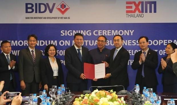 Firman bancos de Vietnam y Tailandia acuerdo de cooperacion hinh anh 1