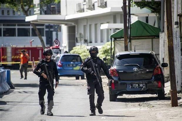 Refuerzan seguridad en Indonesia ante incremento de protestas y violencia hinh anh 1