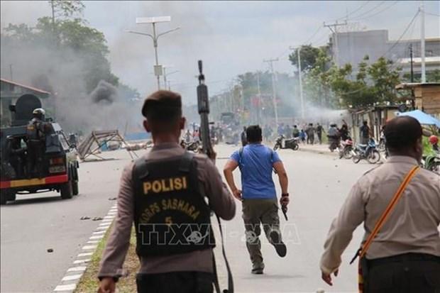 Indonesia bloquea Internet en Papua para tratar de frenar las protestas hinh anh 1