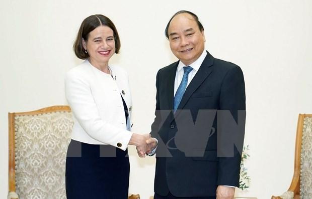 Recibe primer ministro vietnamita a nueva embajadora australiana hinh anh 1