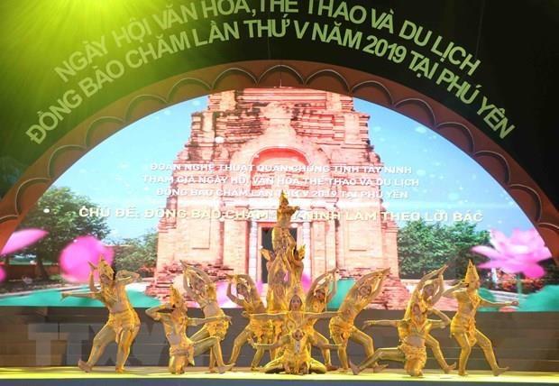 Concluye Festival Cultural de etnia vietnamita Cham hinh anh 1