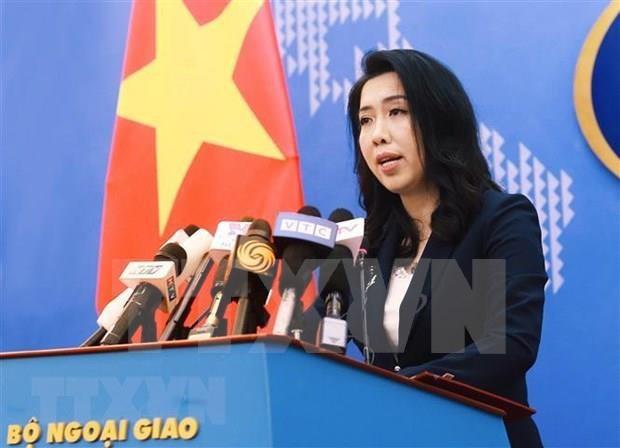 Exige Vietnam a China retirar barcos de su zona economica exclusiva hinh anh 1