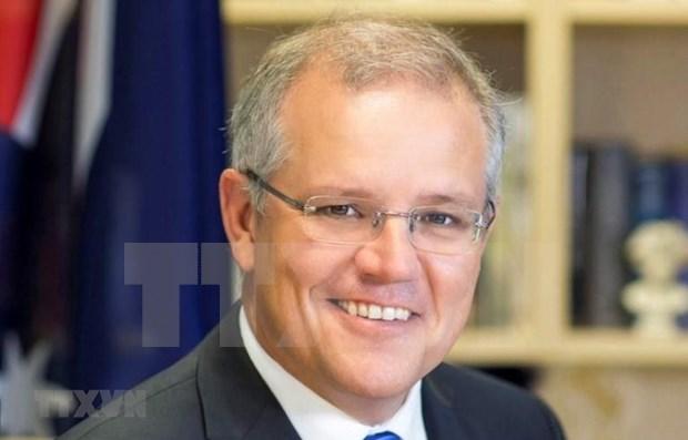 Inicia premier de Australia visita oficial a Vietnam hinh anh 1