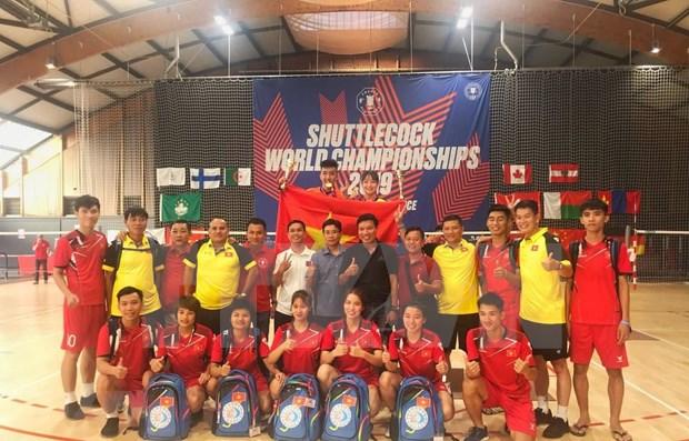 Gana Vietnam medallas de oro en Campeonato Mundial de Jian Zi hinh anh 1