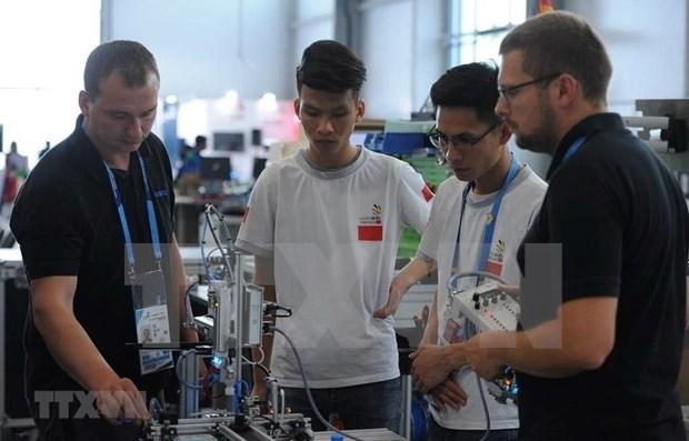 Compite Vietnam en XLV Torneo Internacional de Habilidades en Rusia hinh anh 1