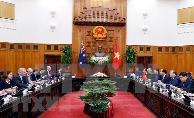 Vietnam y Australia por ampliar asociacion estrategica hinh anh 1