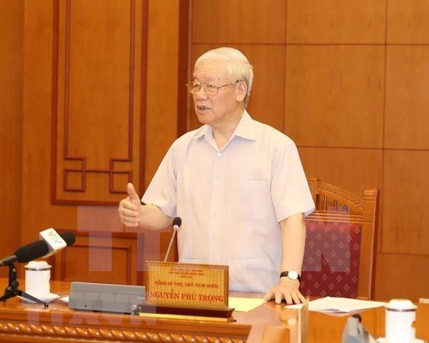 Celebran reunion sobre trabajo de personal para proximo Congreso del Partido Comunista de Vietnam hinh anh 1