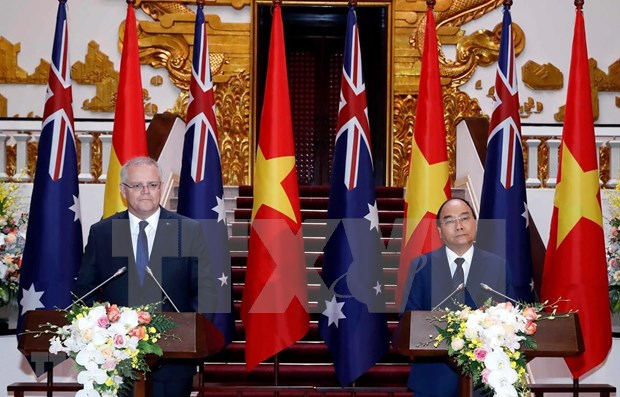 Emiten Vietnam y Australia declaracion conjunta hinh anh 1