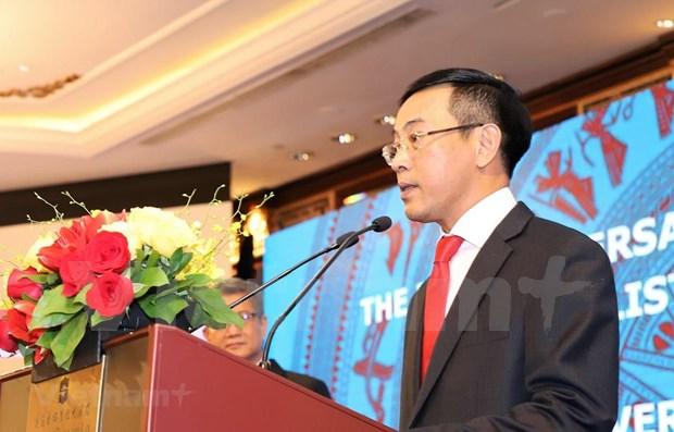Compatriotas en exterior conmemoran aniversario 74 de Dia Nacional de Vietnam hinh anh 1