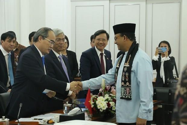 Desea Vietnam colaborar con Indonesia en desarrollo urbano sostenible en ASEAN hinh anh 1