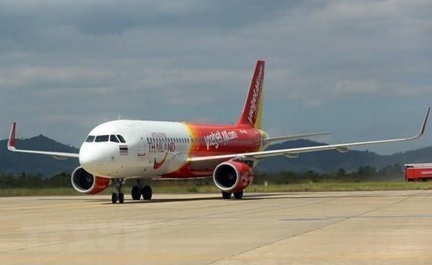 Aerolinea vietnamita Vietjet suspende vuelos a Taiwan por tormenta Bailu hinh anh 1