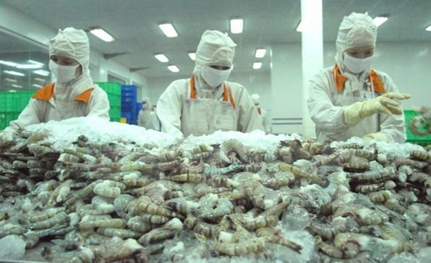 Aprueban arancel cero para exportaciones de camaron vietnamita a Estados Unidos hinh anh 1