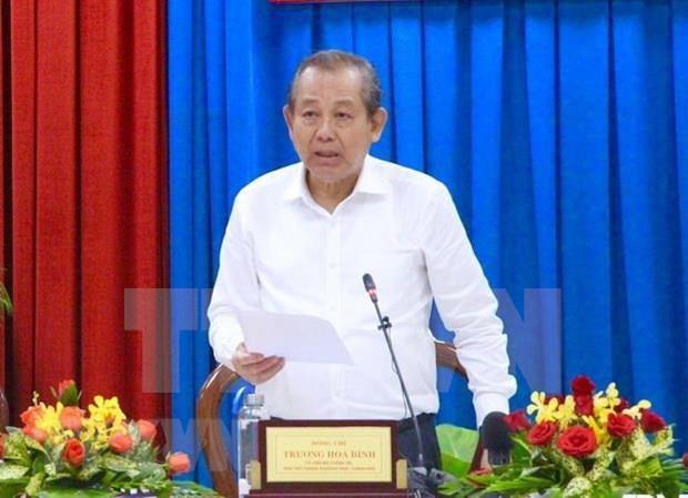 Realiza vicepremier visita de trabajo en provincia de Quang Ninh hinh anh 1