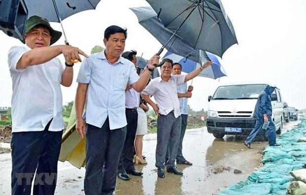 Urge prevencion de la erosion costera en extremo sur de Vietnam hinh anh 1