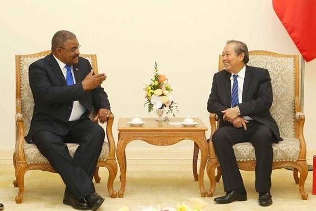 Fortalecen Vietnam y Cuba lazos de hermandad hinh anh 1