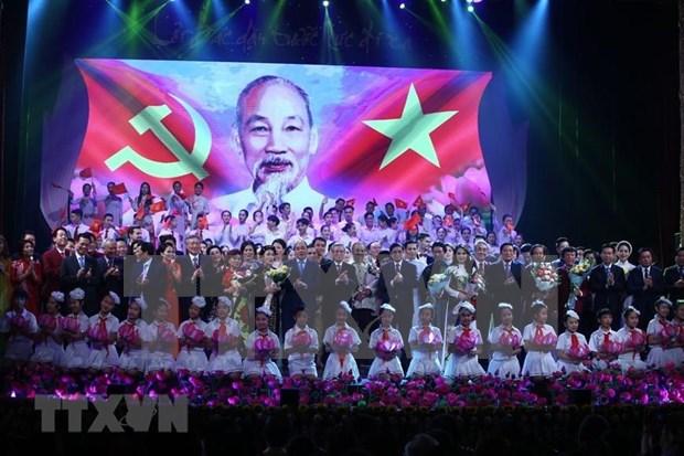 Recuerda programa artistico legado de Presidente Ho Chi Minh hinh anh 1