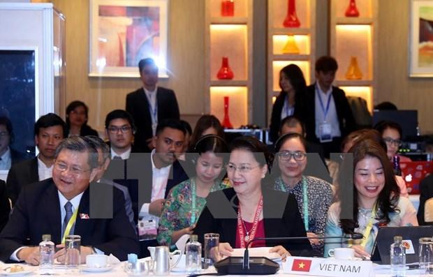 Aprueban candidatura de lider legislativa vietnamita para asumir vicepresidencia de la AIPA hinh anh 1