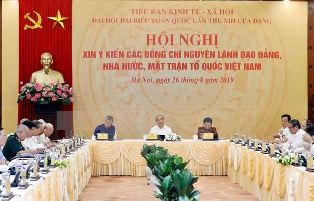 Recogen opiniones acerca de documentos del XIII Congreso del Partido Comunista de Vietnam hinh anh 1