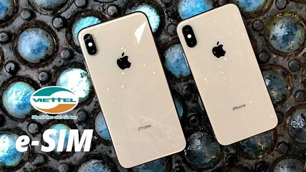 Apple reconoce a Viettel como compania de servicio eSIM en Vietnam hinh anh 1