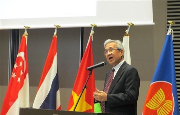 Resaltan en Japon oportunidades y desafios emergentes de la ASEAN hinh anh 1