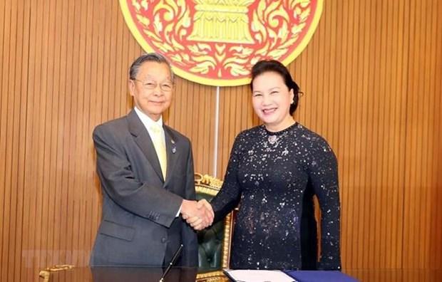Consolidan Vietnam y Tailandia cooperacion parlamentaria hinh anh 1