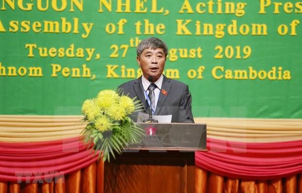 Camboya, Laos y Vietnam buscan fomentar vinculos en defensa-seguridad hinh anh 1