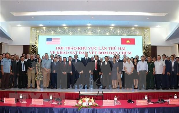 Revisan en Vietnam eficacia de metodos de investigacion sobre bombas de racimo hinh anh 1