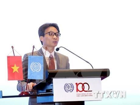Celebran en Vietnam centenario de la Organizacion Internacional del Trabajo hinh anh 1