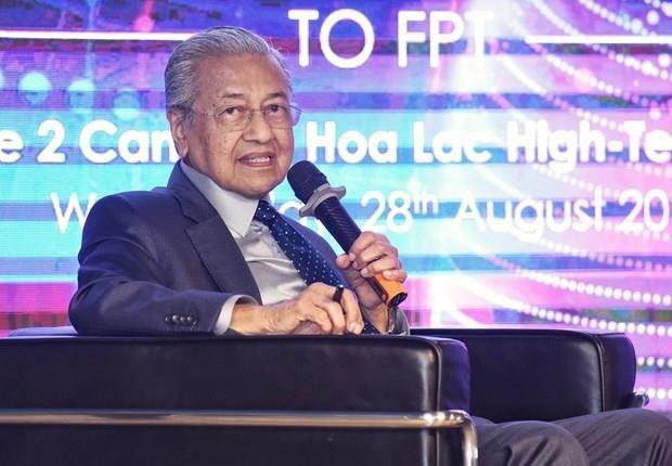 Comparte primer ministro malasio experiencias con Vietnam en transformacion digital hinh anh 1