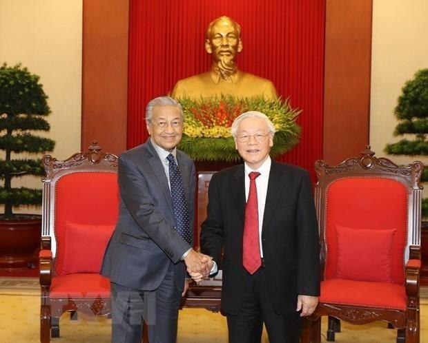 Prioriza Vietnam asociacion estrategica con Malasia, afirma maximo dirigente hinh anh 1