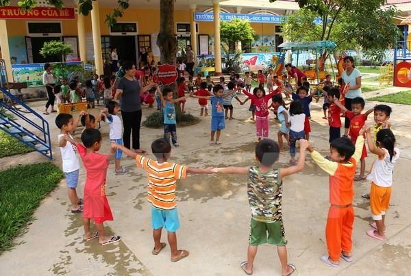 Intensifica Vietnam proteccion de derechos de infancia en zonas urbanas hinh anh 1