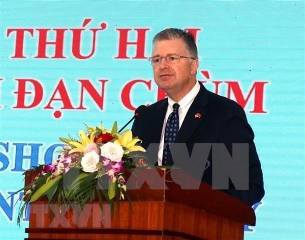Reafirma Estados Unidos apoyo a Vietnam en solucion de secuelas de guerra hinh anh 1