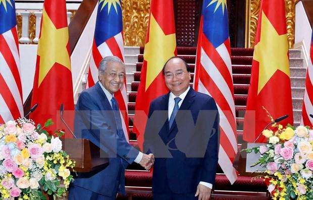 Reafirman Vietnam y Malasia compromiso de fortalecer asociacion estrategica hinh anh 1