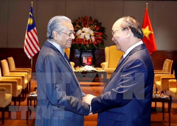 Concluye premier malasio su visita a Vietnam hinh anh 1