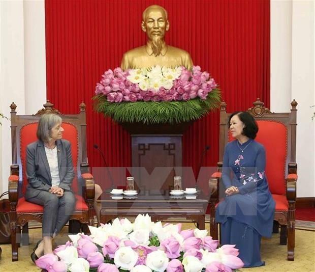 Reitera la OIT compromiso de asistir a Vietnam para la mejora de politicas laborales hinh anh 1